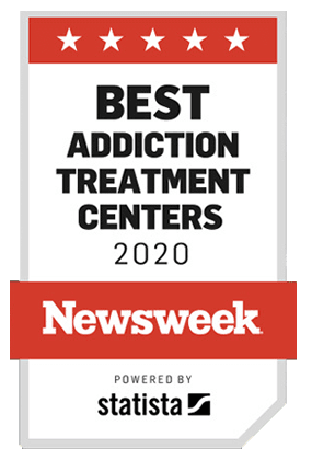 Awarded Best Addiction Treatment Centers in 2020 by Newsweek
