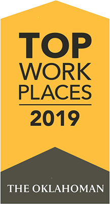 Top Places to Work 2019 Award Winner
